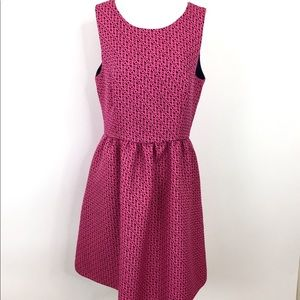 Cynthia Rowley Dress Sleeveless Hot Pink 12